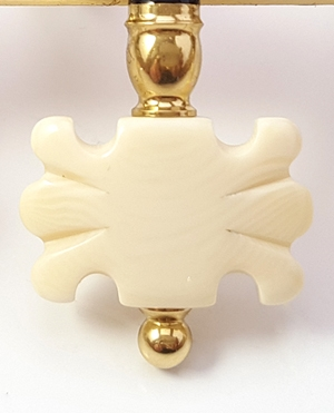 Butterfly Light Synthetic Ivory