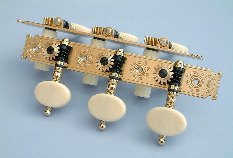 Baker L694 Oval Synthetic Ivory