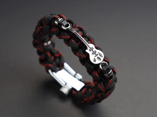 Paracord Guitar Bracelet by Paracord Warrior