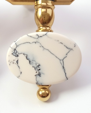 Oval Patter Marble
