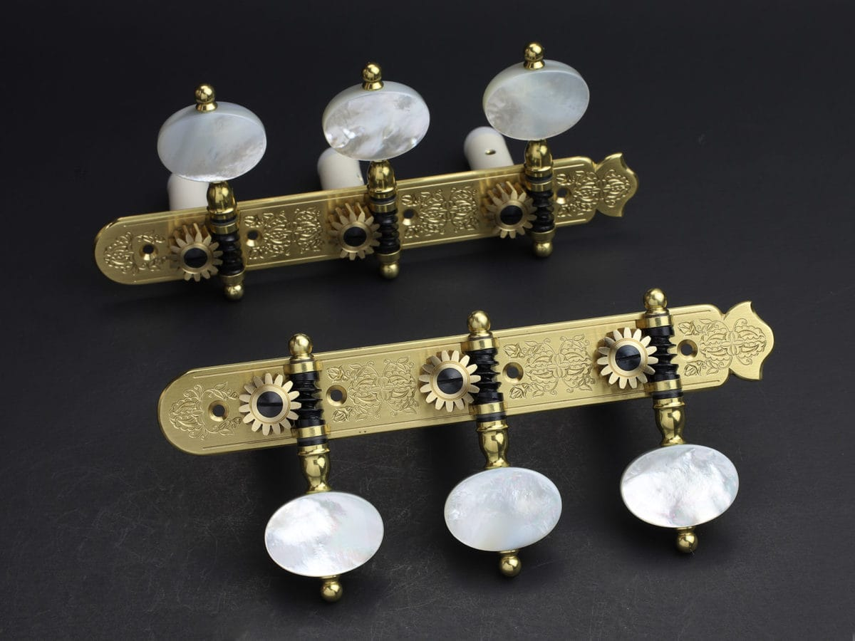 Rodgers Tuners L387 Brass Light MOP
