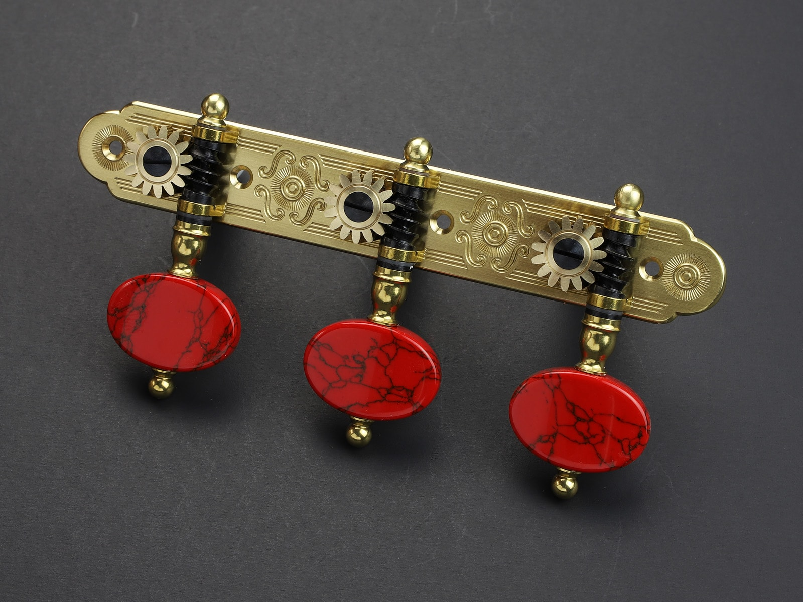 Rodgers Tuners L465 Brass Coral