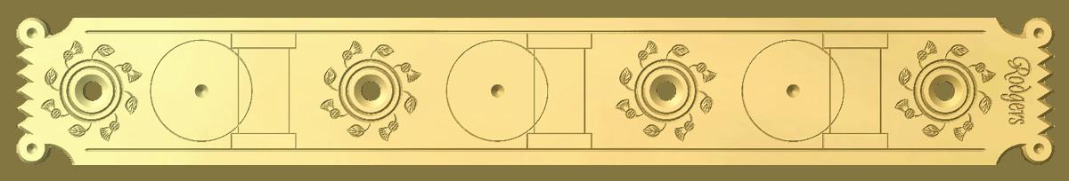 Engraved Design L694 Jerome