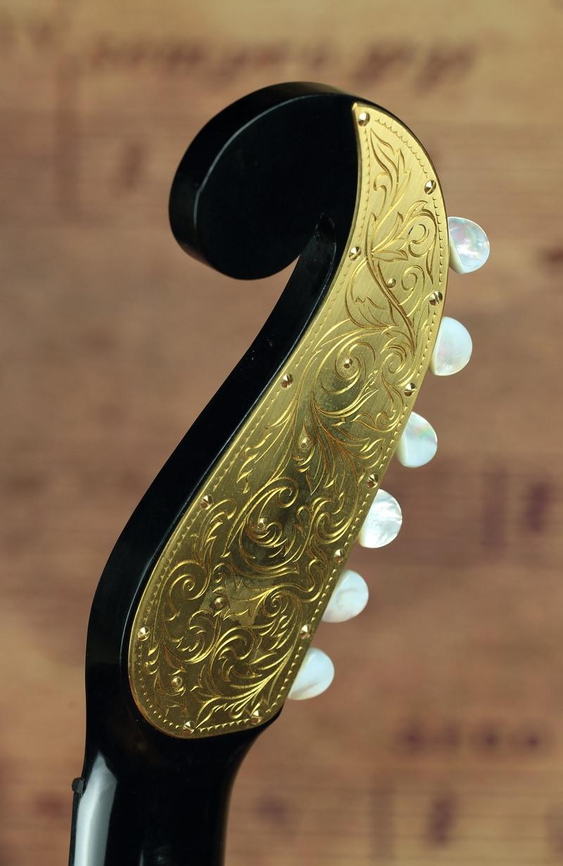 Rodgers Tuners Stauffer Kresse Guitar