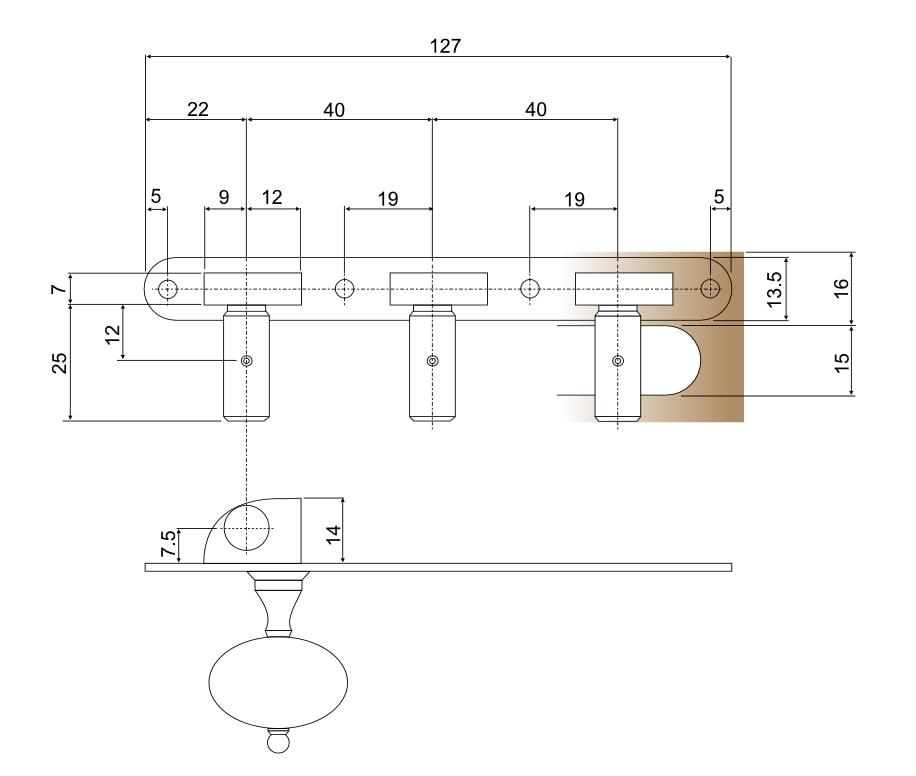 Standard Lacote 40x127mm