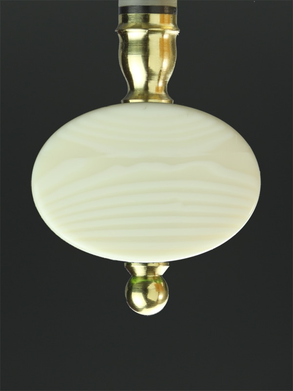 Oval Synthetic Ivory