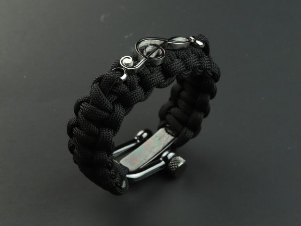 Paracord Clef Bracelet by Paracord Warrior