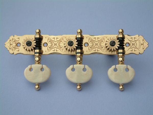 L188 Brass with Kidney Ivory