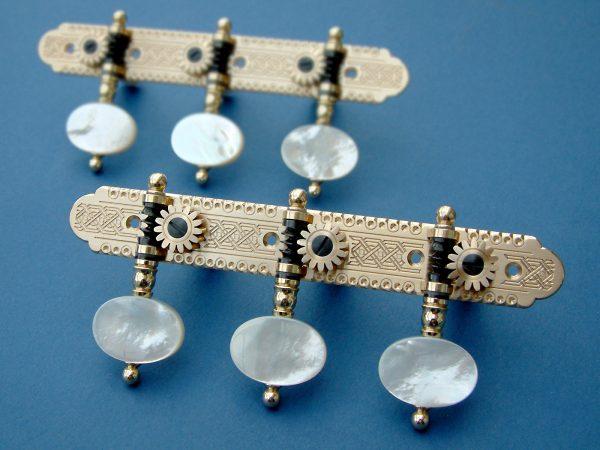 L319 Brass and Light MoP buttons