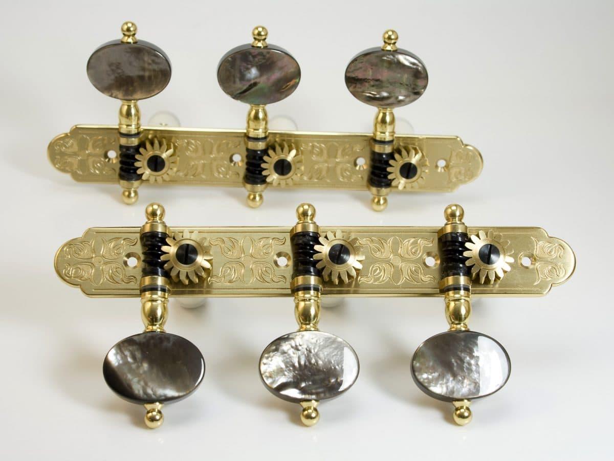 L431 Brass with Dark MoP buttons