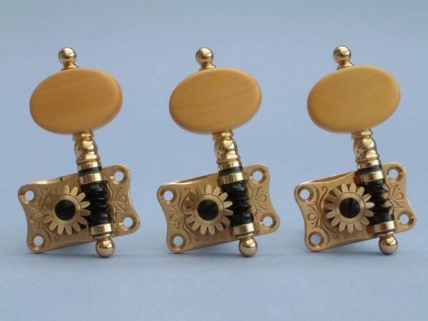 SCS02 Brass Boxwood