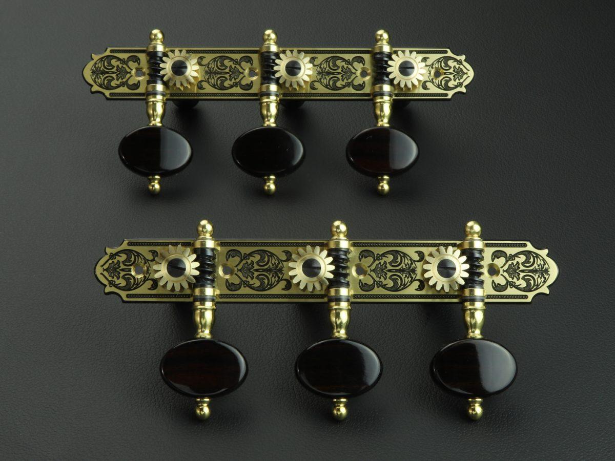 L681 Brass Macassar